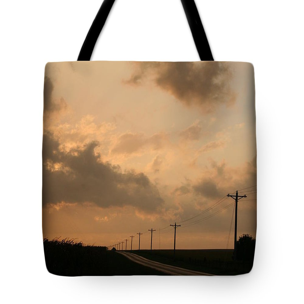 Landscape Tote Bag featuring the photograph Reflection by Dylan Punke