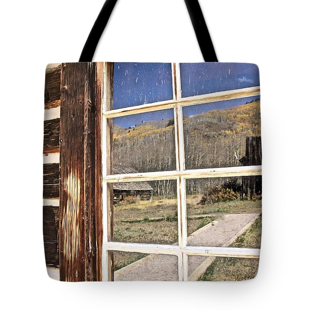 Aspen Tote Bag featuring the photograph Reflection by Elisabeth Derichs