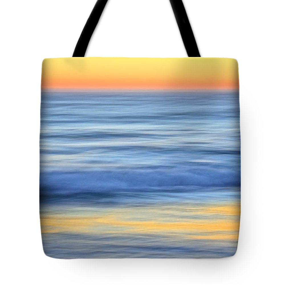 Nature Tote Bag featuring the photograph Reflection Gold by Zayne Diamond Photographic