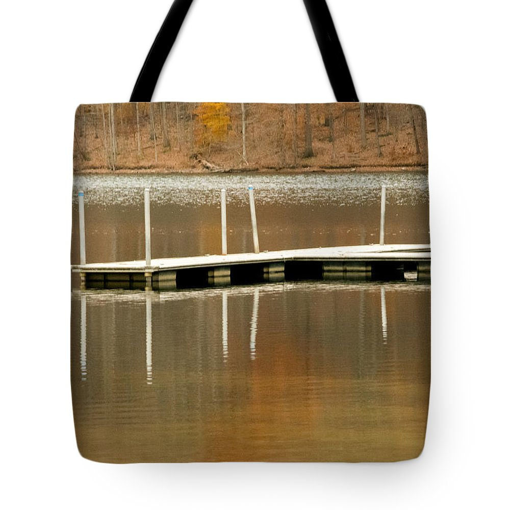 Water Tote Bag featuring the photograph Reflection by Jennifer Wick
