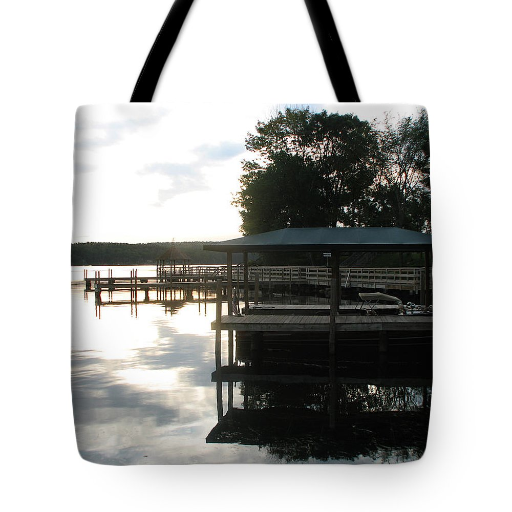 Meredith Nh Tote Bag featuring the photograph Reflection by Michael Mooney