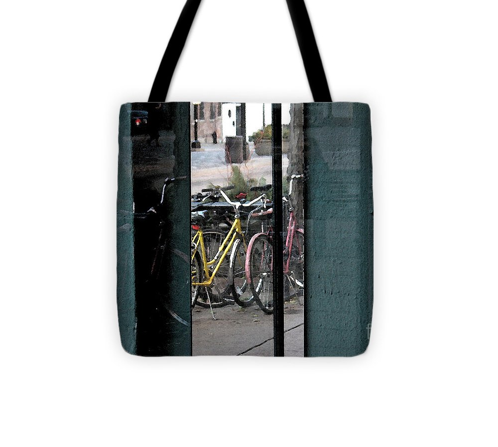 Reflection Tote Bag featuring the photograph Reflection X2 by Gary Everson