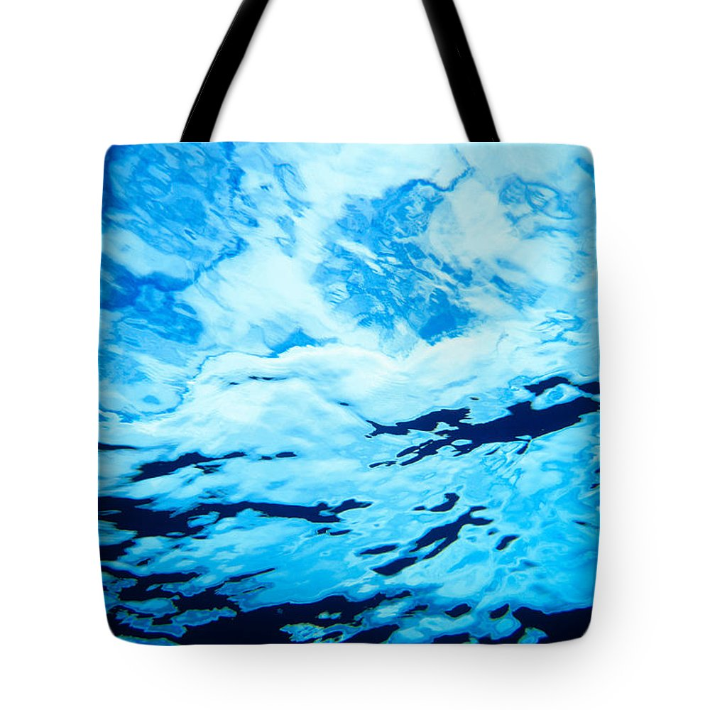 Amaze Tote Bag featuring the photograph Reflections And Shadows by Erik Aeder - Printscapes