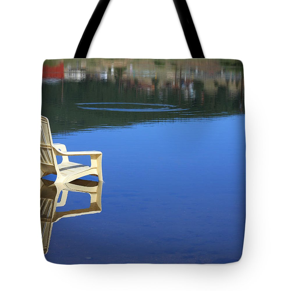 Water Tote Bag featuring the photograph Reflections Fine Art Photography Print by James BO Insogna