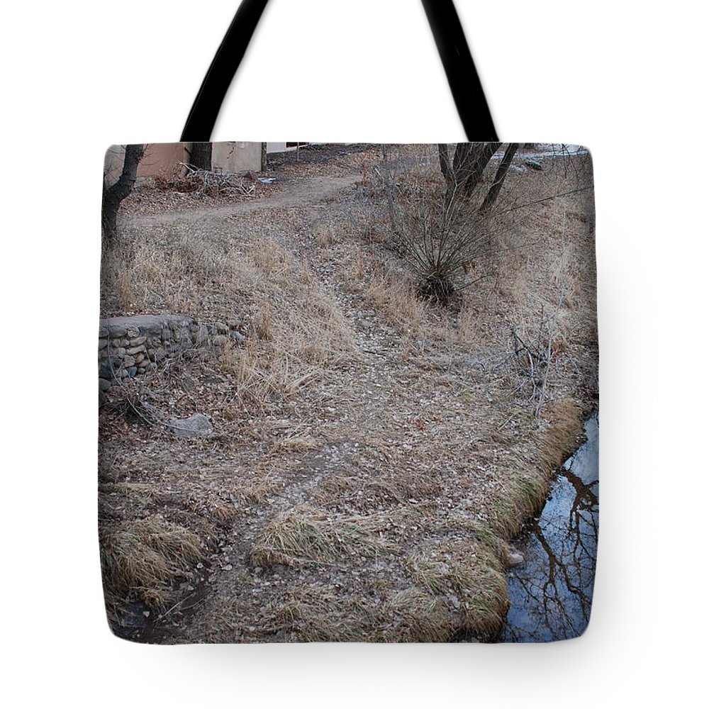 Water Tote Bag featuring the photograph Reflections In The River by Rob Hans