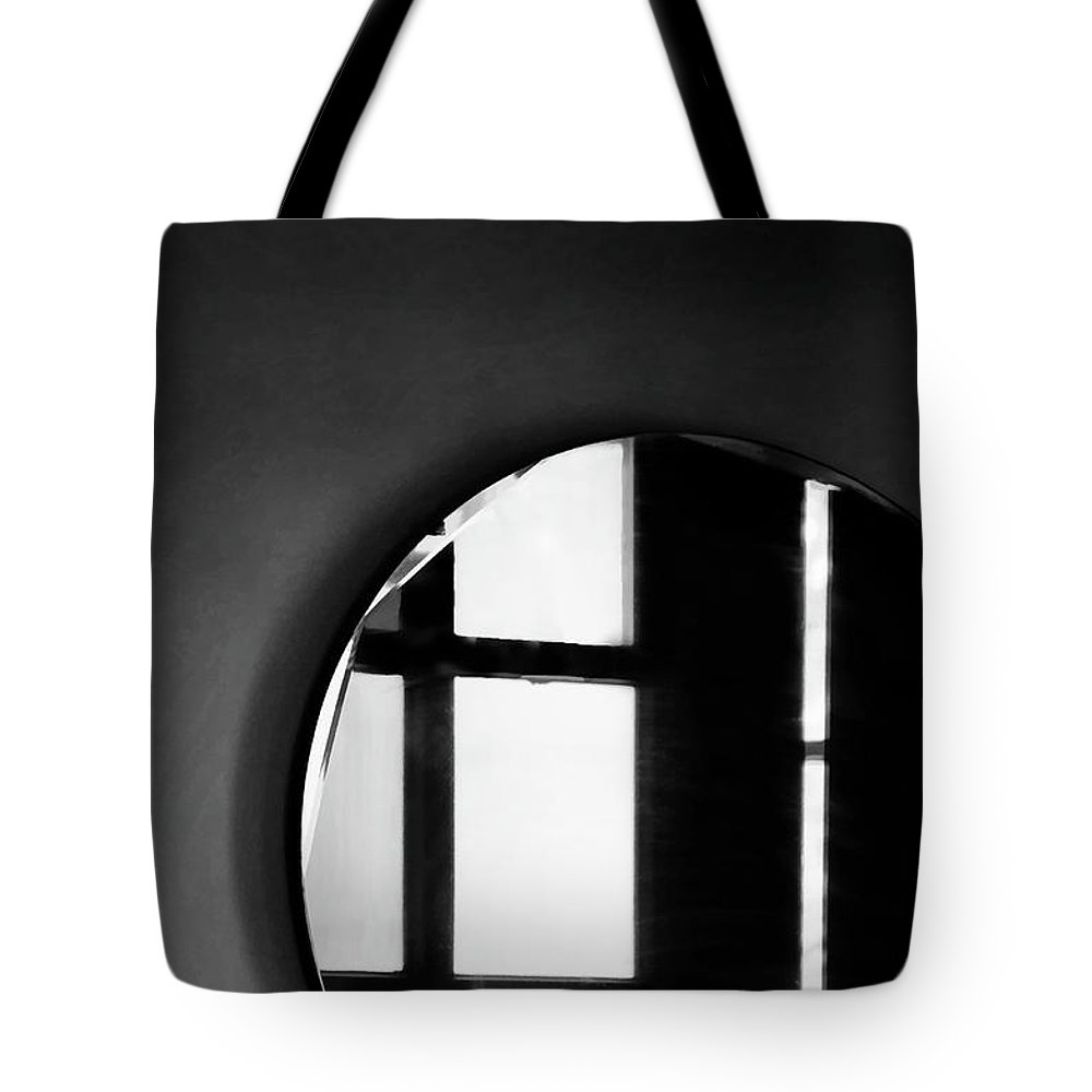 Mirror Tote Bag featuring the photograph Reflections by Joy Rector