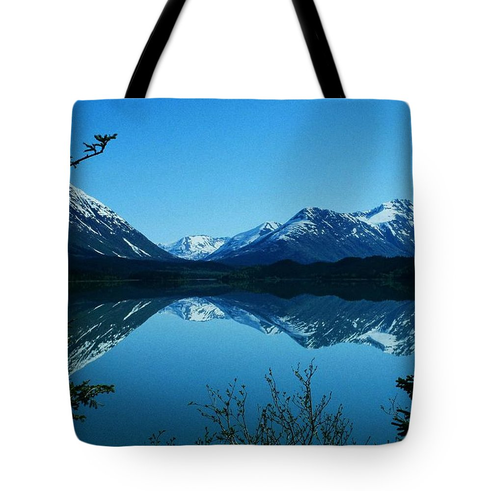 North America Tote Bag featuring the photograph Reflections ... by Juergen Weiss