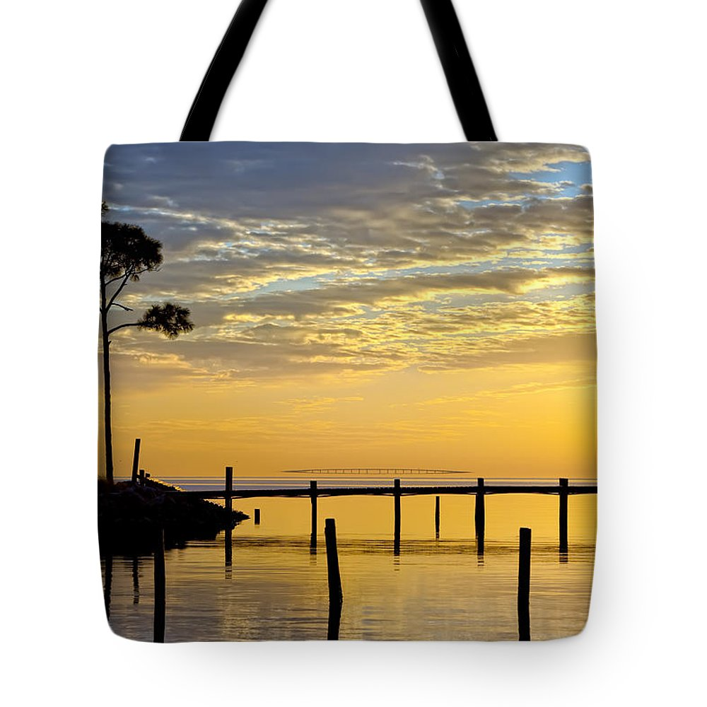 Sunrise Tote Bag featuring the photograph Reflections Of You by Janet Fikar