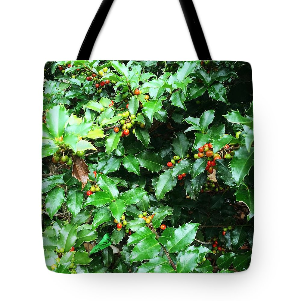 Leaves Tote Bag featuring the photograph Refreshing Green by Anh Nguyen