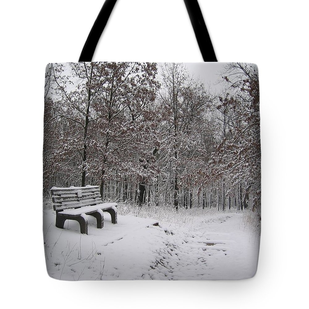 Landscape Tote Bag featuring the photograph Refuge by Dylan Punke