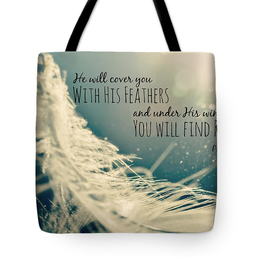 Quote Tote Bag featuring the photograph Refuge by Kelly Nowak