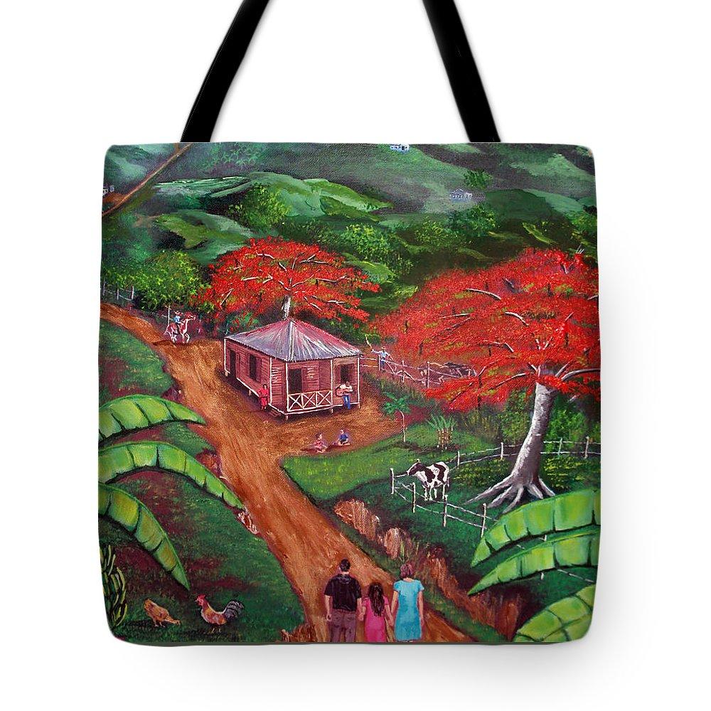 Flamboyan Tote Bags