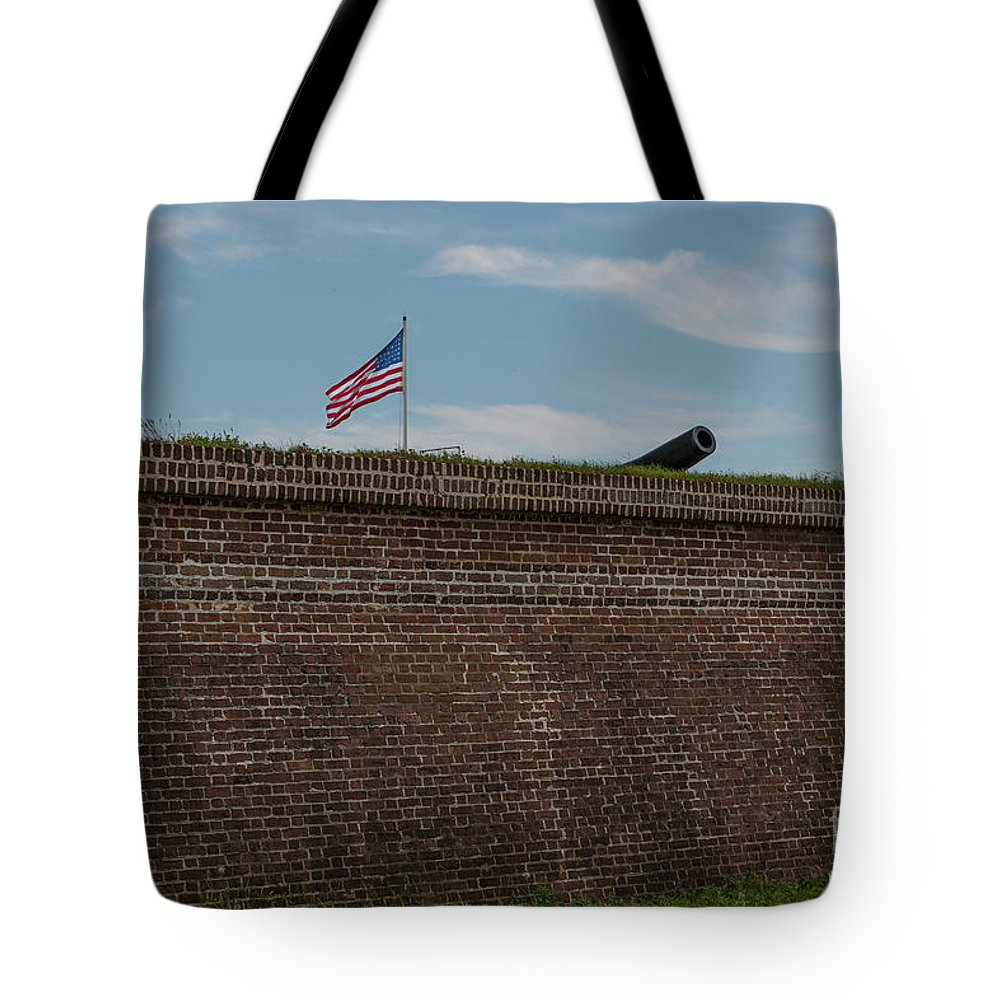 Ort Tote Bag featuring the photograph Relase The Shot by Dale Powell