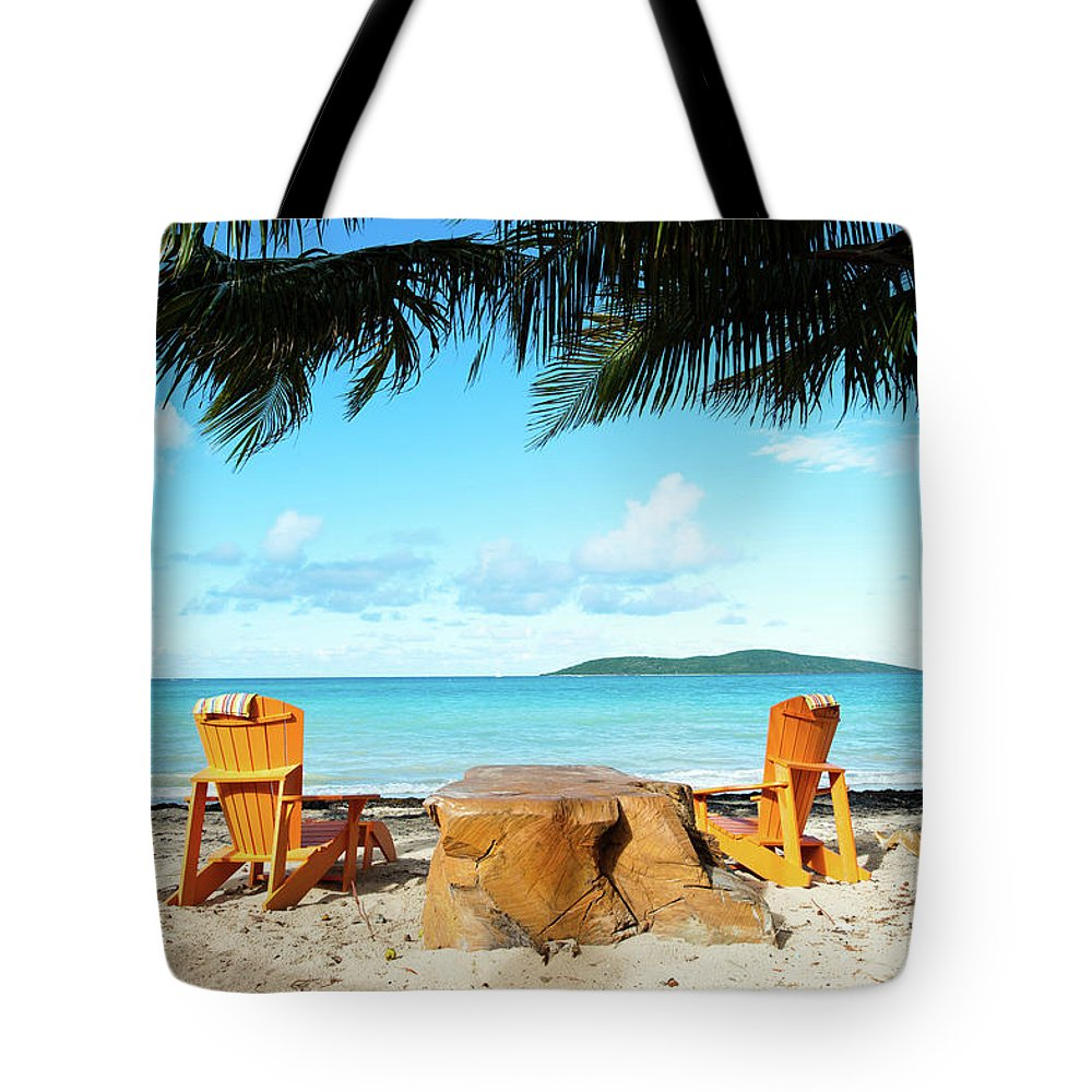 United States Virgin Islands Tote Bags