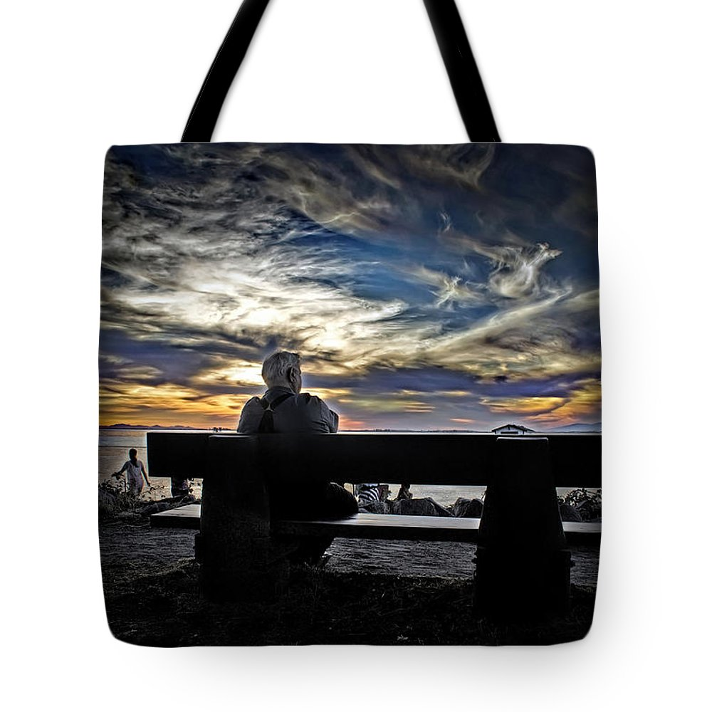Beach Tote Bag featuring the photograph Relaxer by Chris Lavallee