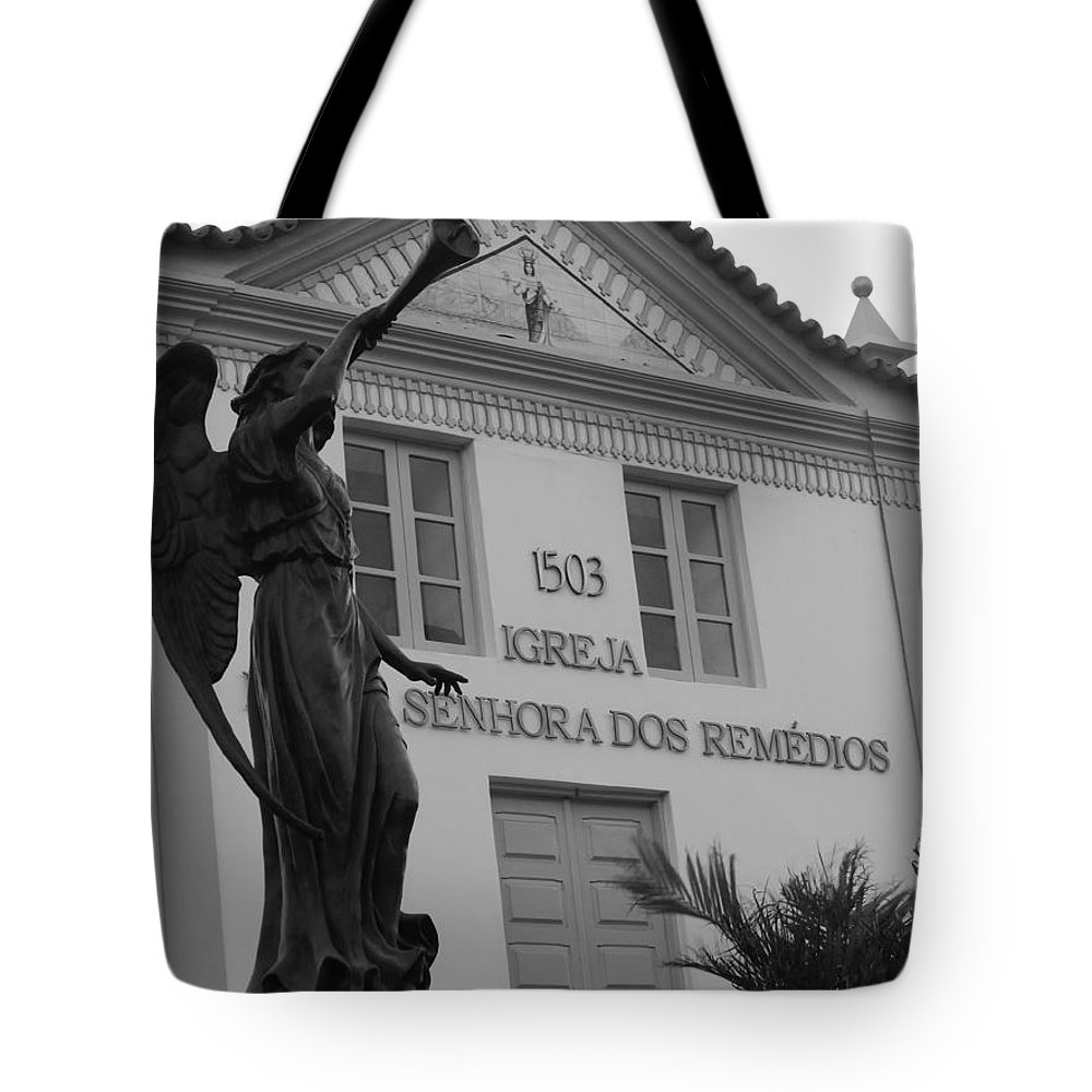 Bw Tote Bag featuring the photograph Religious Medicine by Beto Machado
