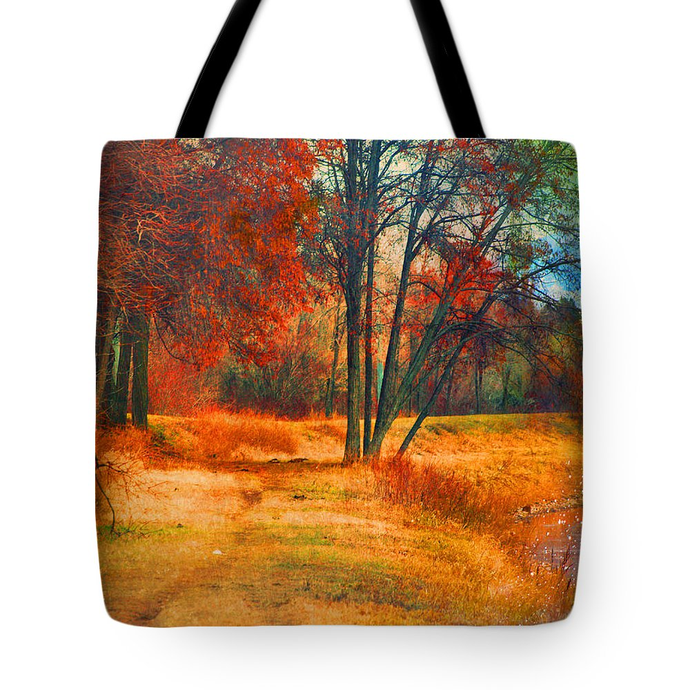 Trees Tote Bag featuring the photograph Remembering The Places I Have Been by Tara Turner