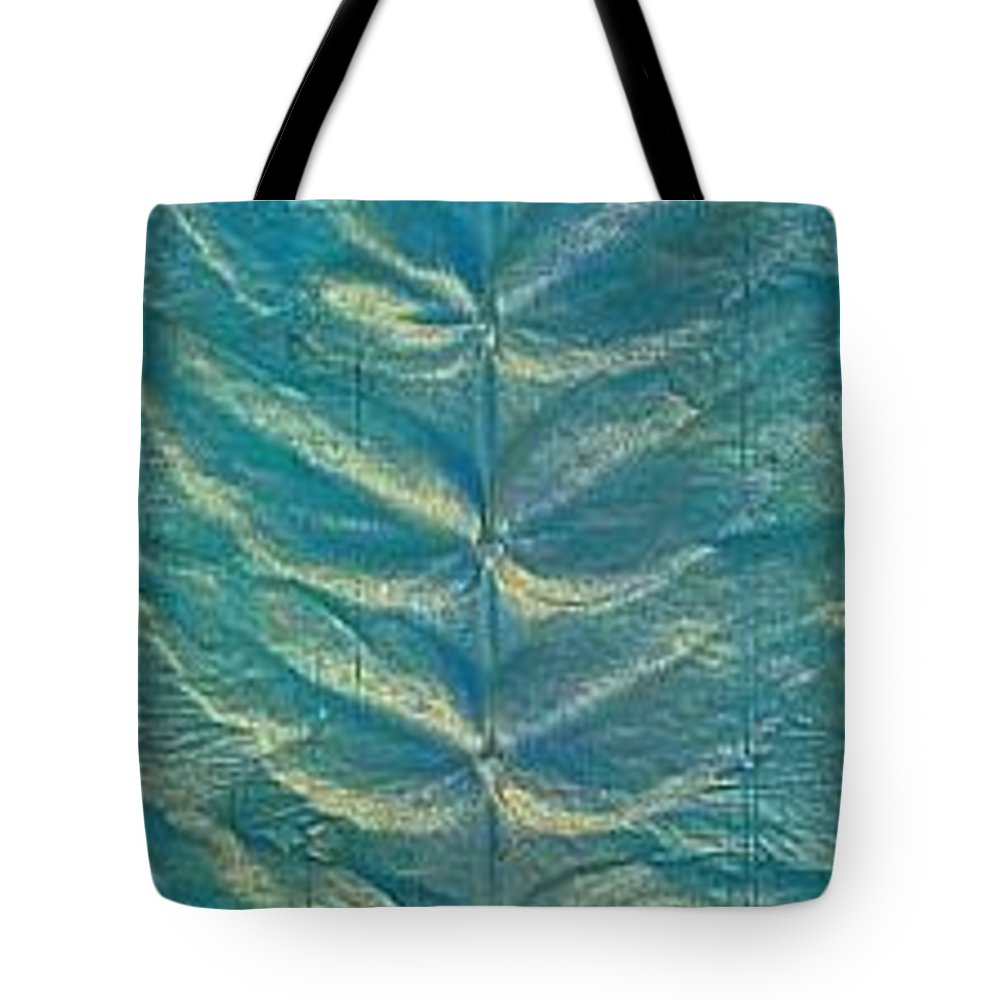 Landscape Tote Bag featuring the painting Remnant by Rick Silas