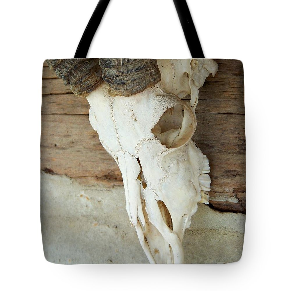 Remnants Tote Bag featuring the photograph Remnants by Jai Johnson