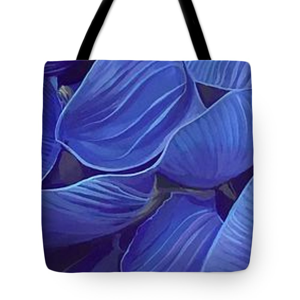 Botanical Tote Bag featuring the painting Render Love by Hunter Jay