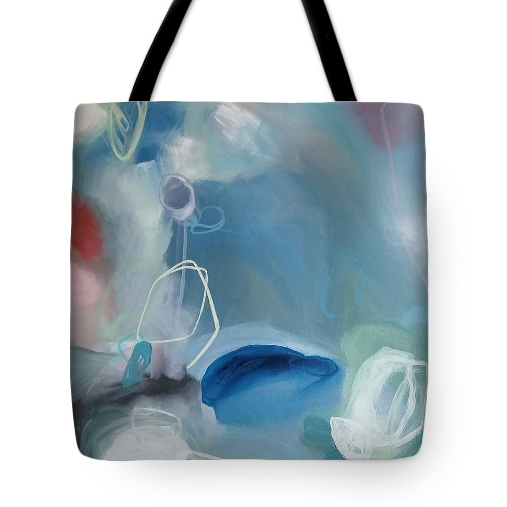 Art Tote Bag featuring the painting Renewal by Amber Tattersall