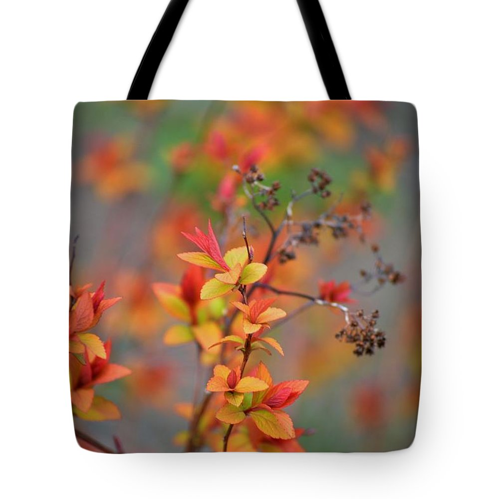 Spirea Branches Tote Bag featuring the photograph Renewal by Marla McPherson