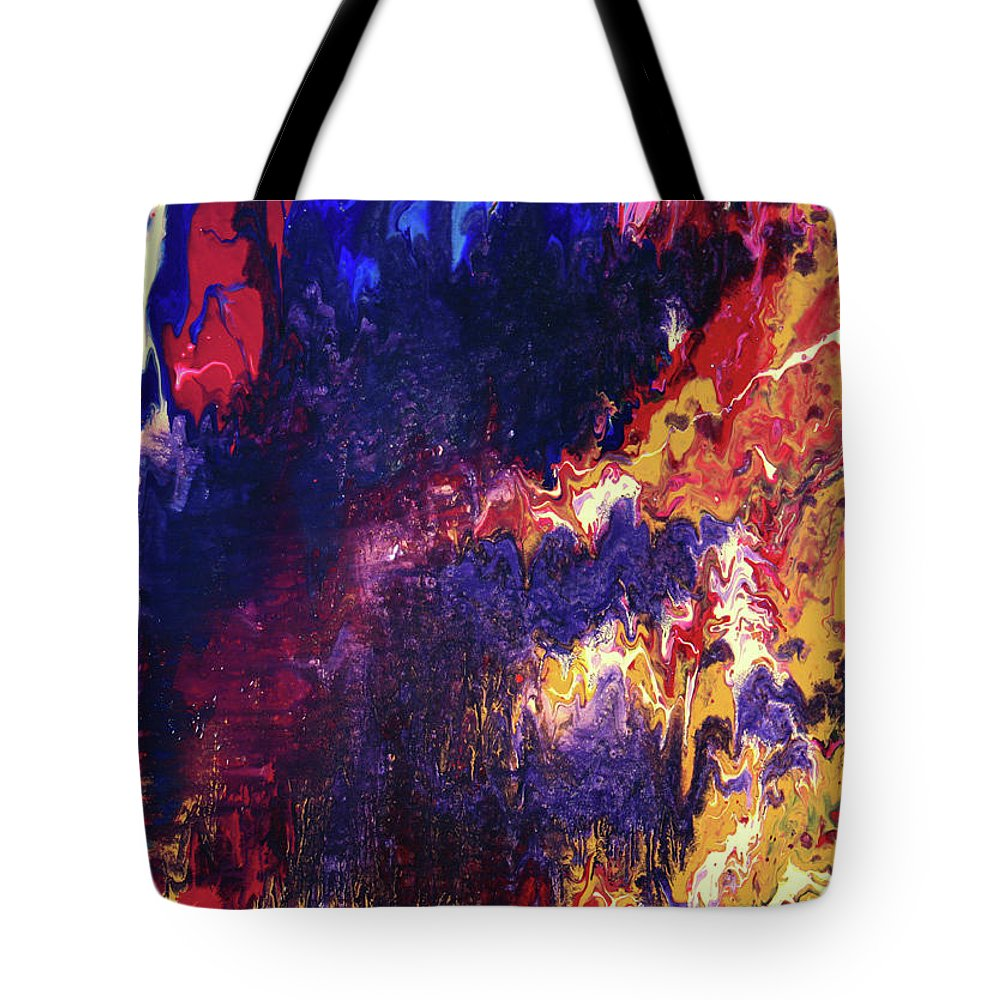 Resonance Tote Bag featuring the painting Resonance by Ralph White