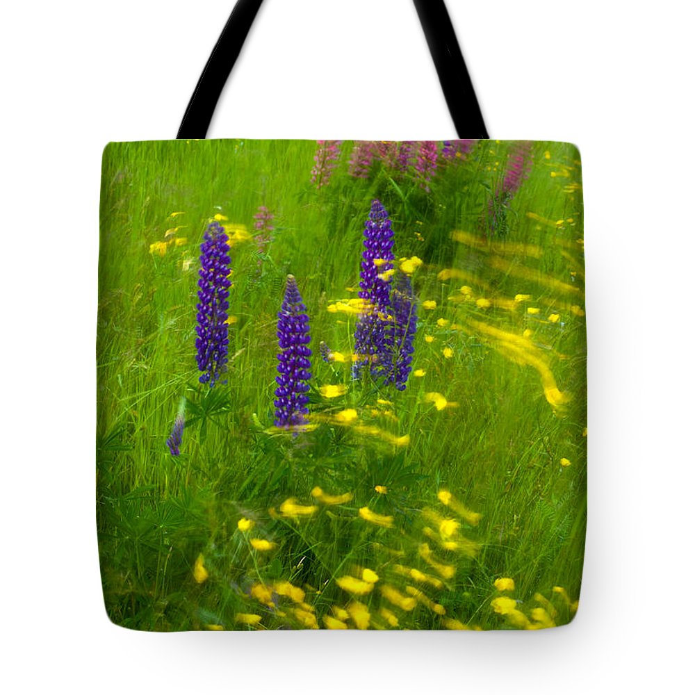 Wild Flowers Tote Bag featuring the photograph Restless by Irwin Barrett