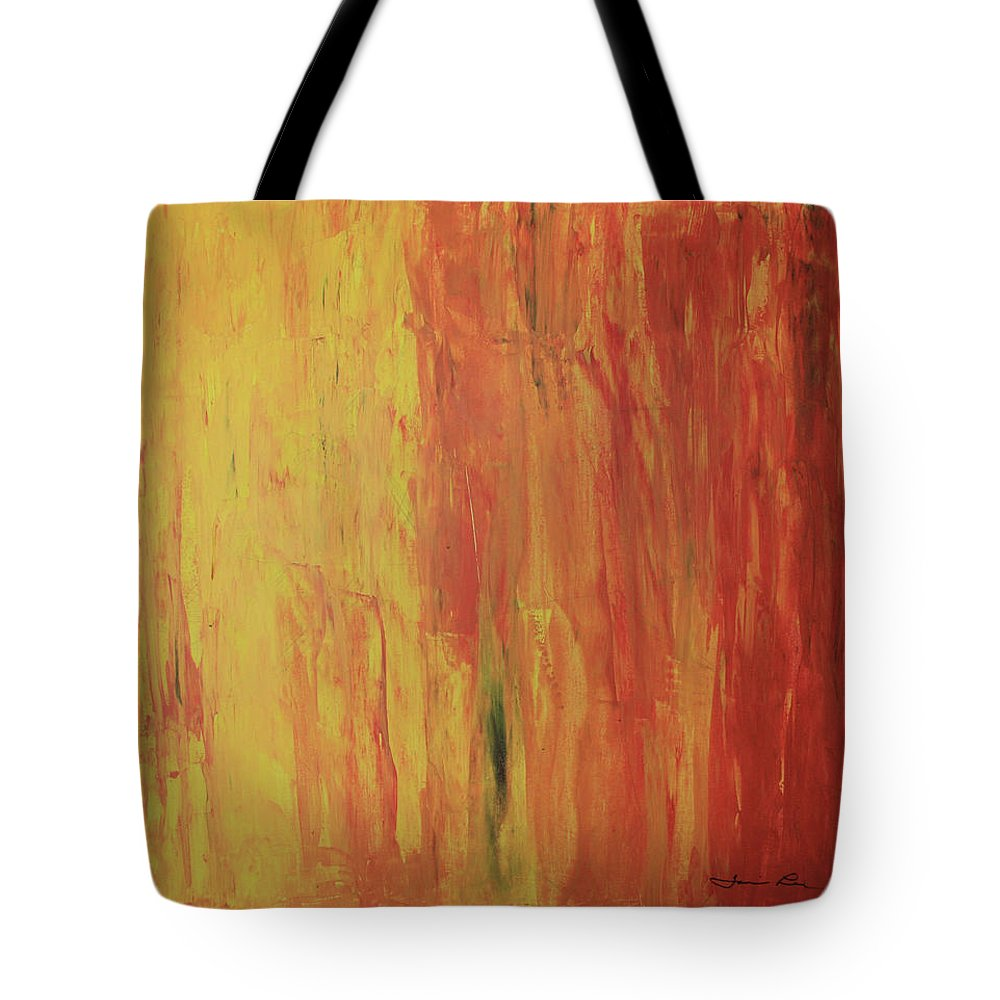 Restore Tote Bag featuring the painting Restore by Tamivision