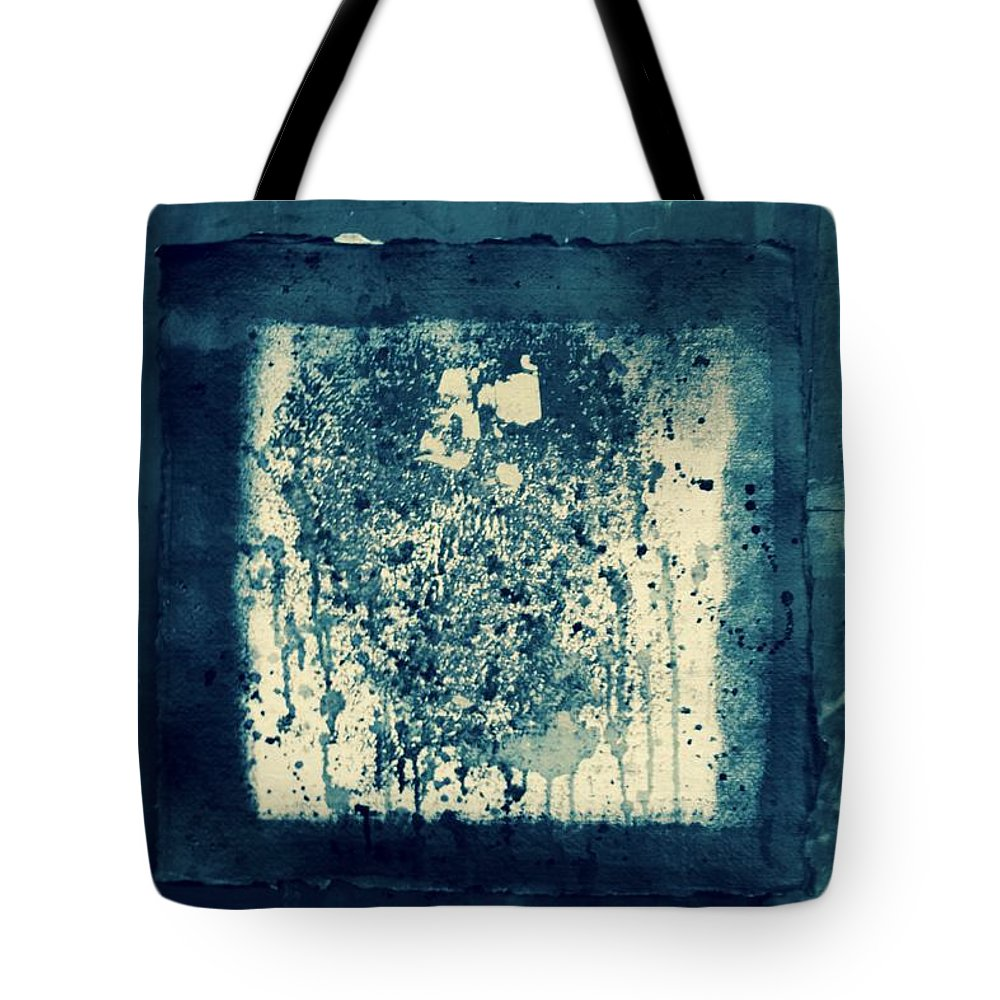 Retro Tote Bag featuring the painting Retro Inkt Work by Rick Triest