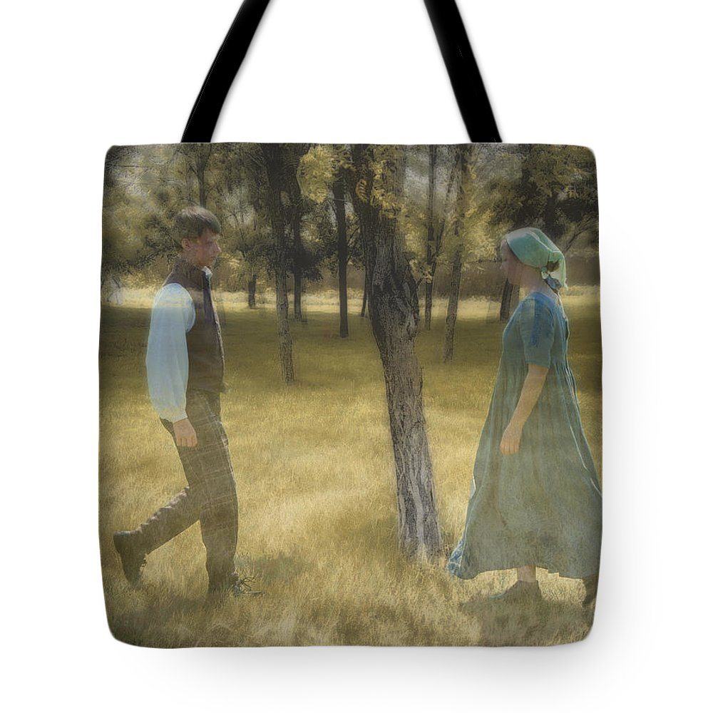 Reunited Tote Bag featuring the photograph Reunited by John Anderson