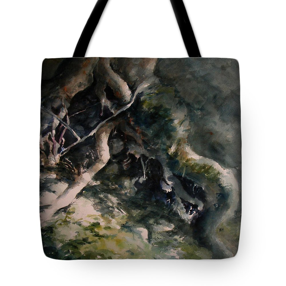 Nature Tote Bag featuring the painting Revealed by William Russell Nowicki