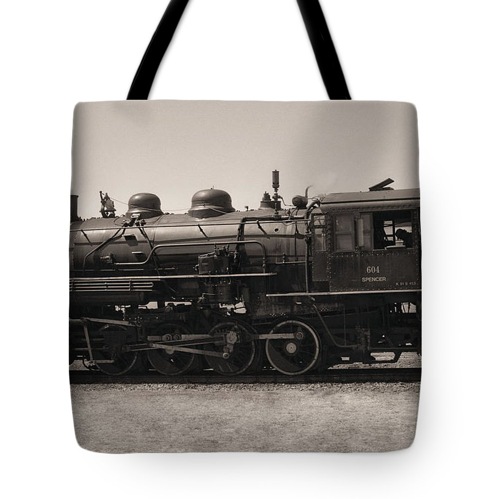 Americana Tote Bag featuring the photograph Reverse Throttle by Richard Rizzo