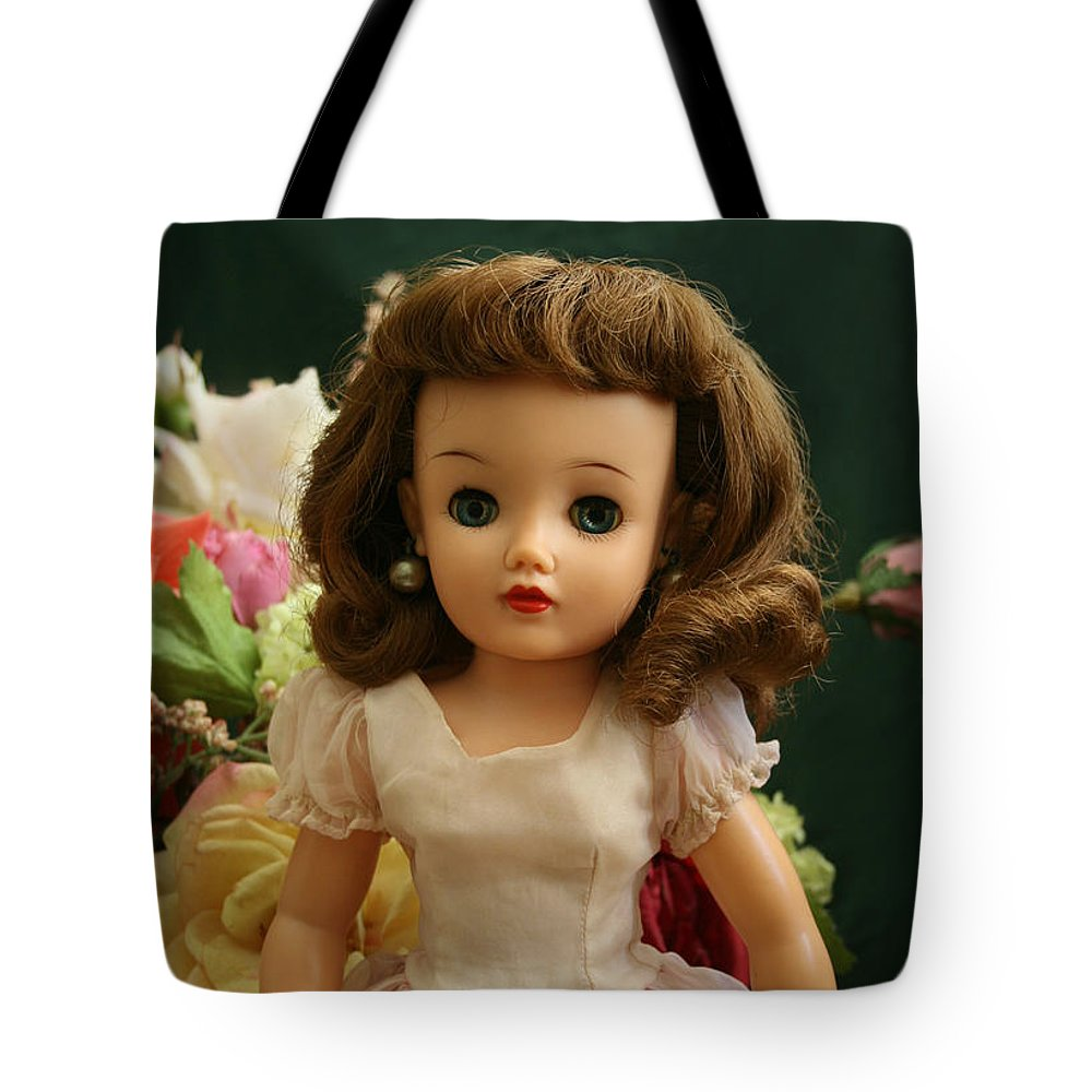 Doll Tote Bag featuring the photograph Revlon by Marna Edwards Flavell
