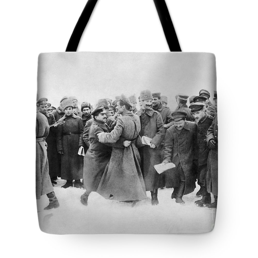 1917 Tote Bag featuring the photograph Revolution Of 1917 by Granger