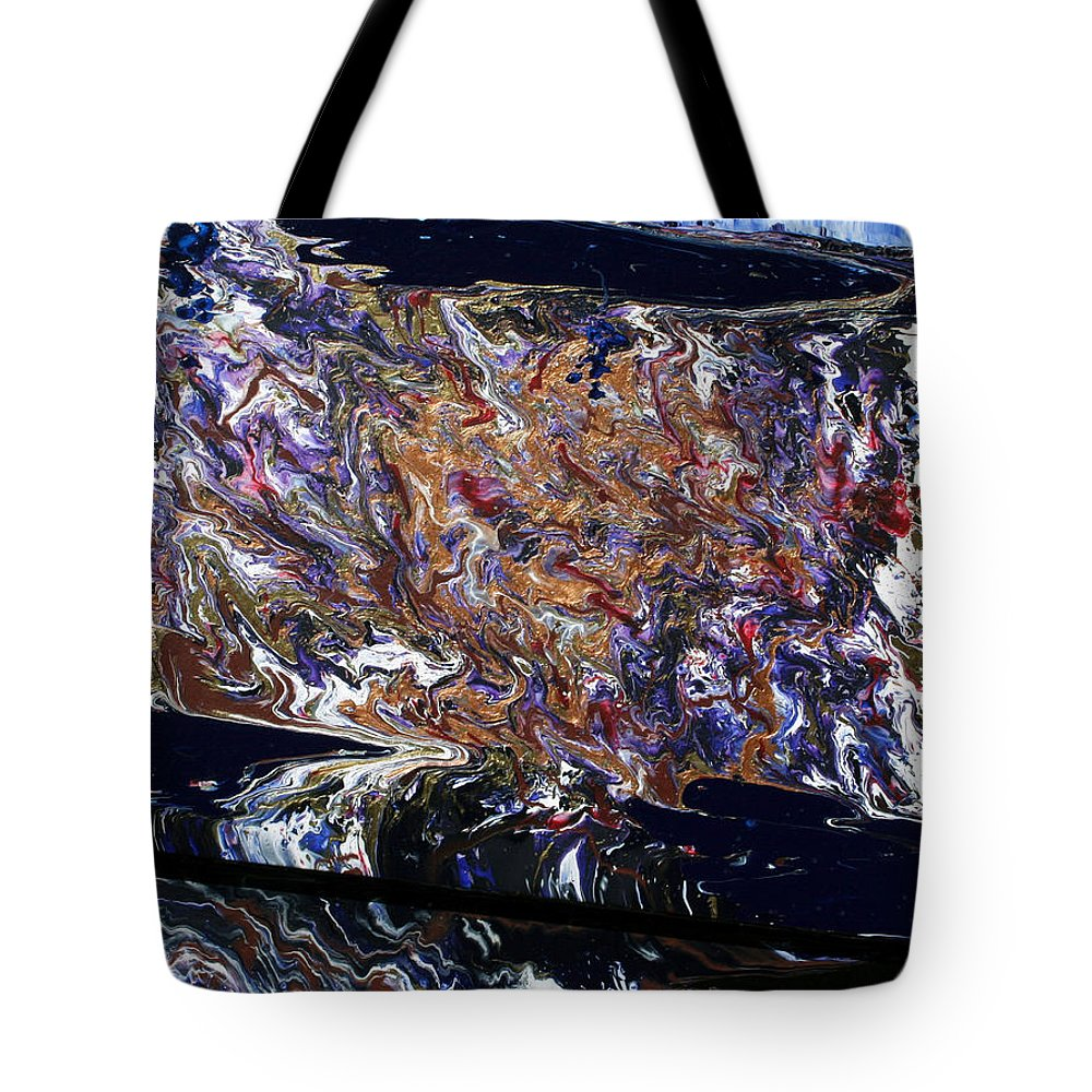 Fusionart Tote Bag featuring the painting Revolution by Ralph White