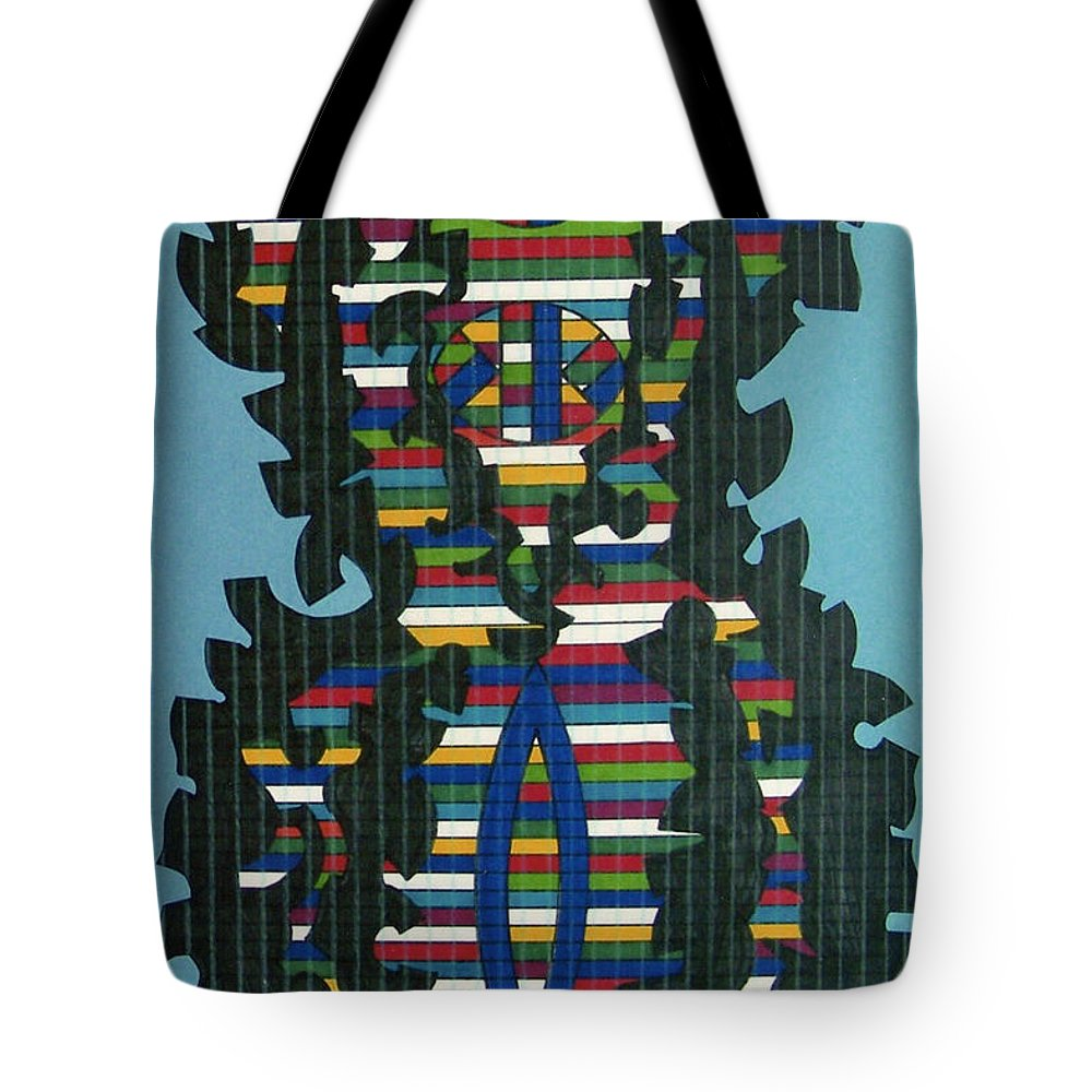 Tote Bag featuring the drawing Rfb0417 by Robert F Battles
