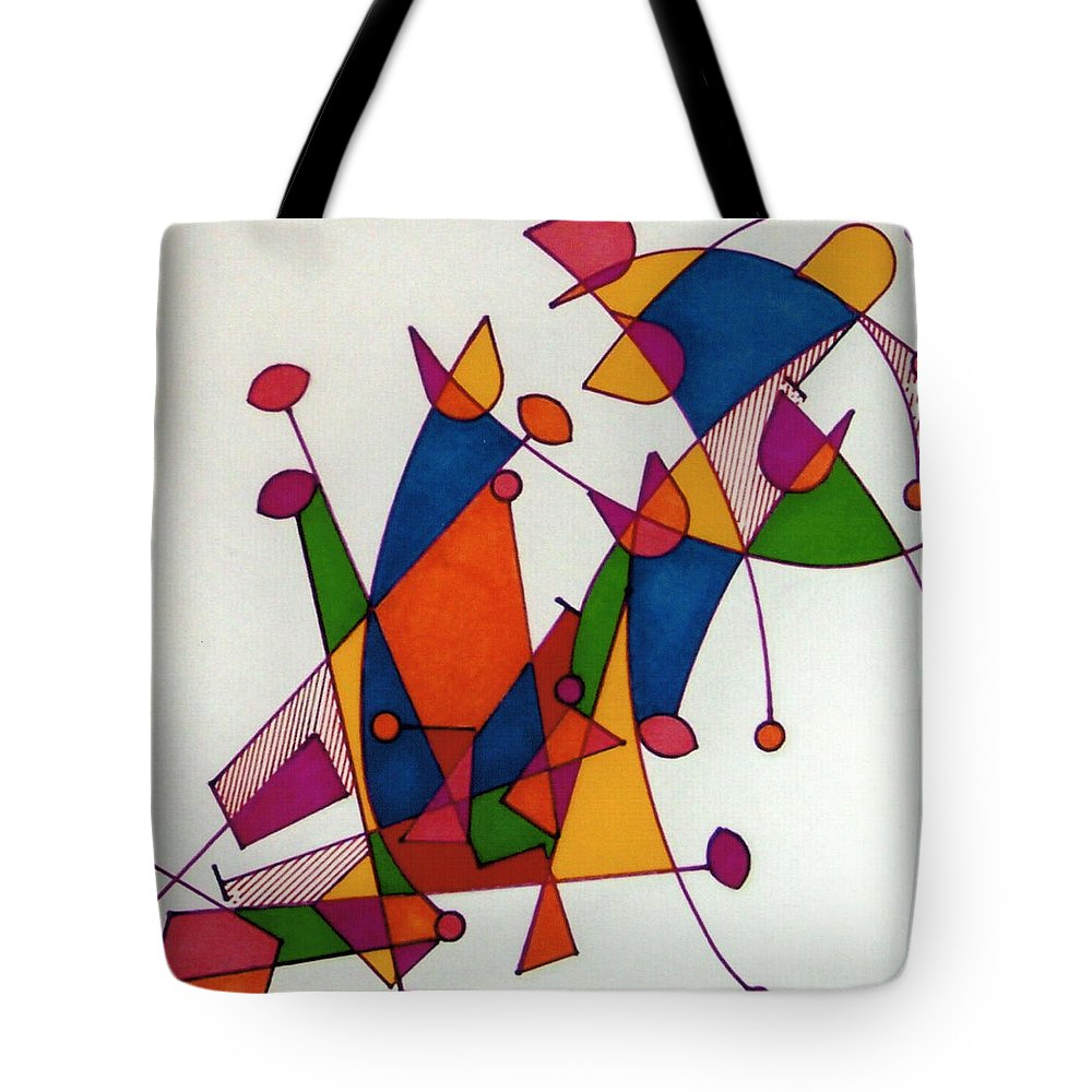 Lasting Dance Tote Bag featuring the photograph Rfb0587 by Robert F Battles