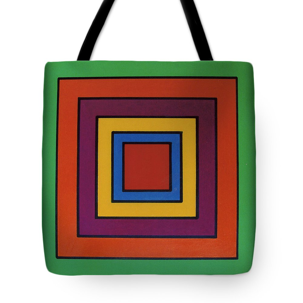 Hypno Tote Bag featuring the drawing Rfb0632 by Robert F Battles