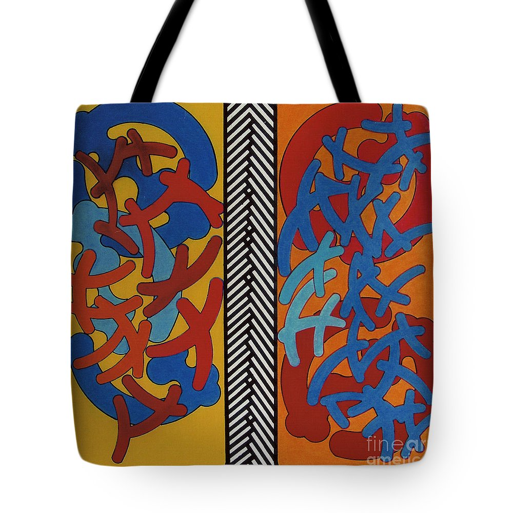 Lungs Tote Bag featuring the drawing Rfb0704 by Robert F Battles