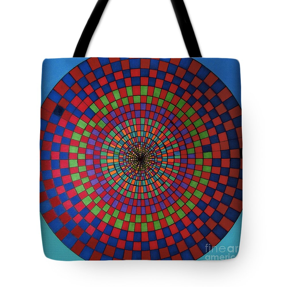 Target Tote Bag featuring the drawing Rfb0715 by Robert F Battles