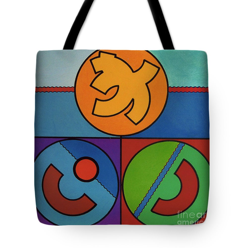 Tote Bag featuring the drawing Rfb0719 by Robert F Battles