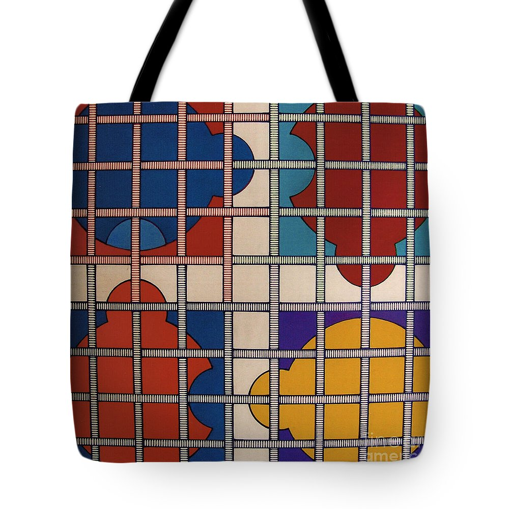 Abstract Tote Bag featuring the drawing Rfb0808 by Robert F Battles