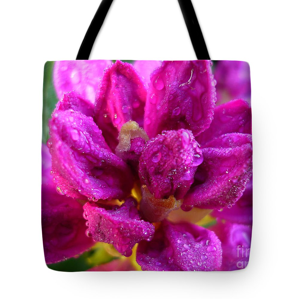 Rhododendrum Tote Bag featuring the photograph Rhododendrum by Jeff Breiman