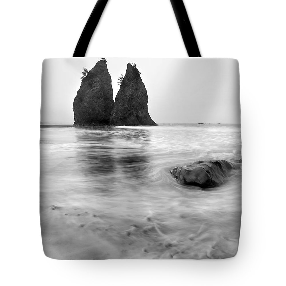 Beach Tote Bag featuring the photograph Rialto Reflections by Mike Dawson