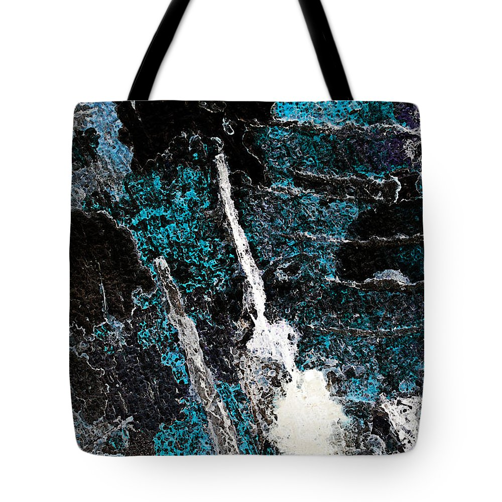 Abstract Tote Bag featuring the photograph Rib Cage by Carl Ellis