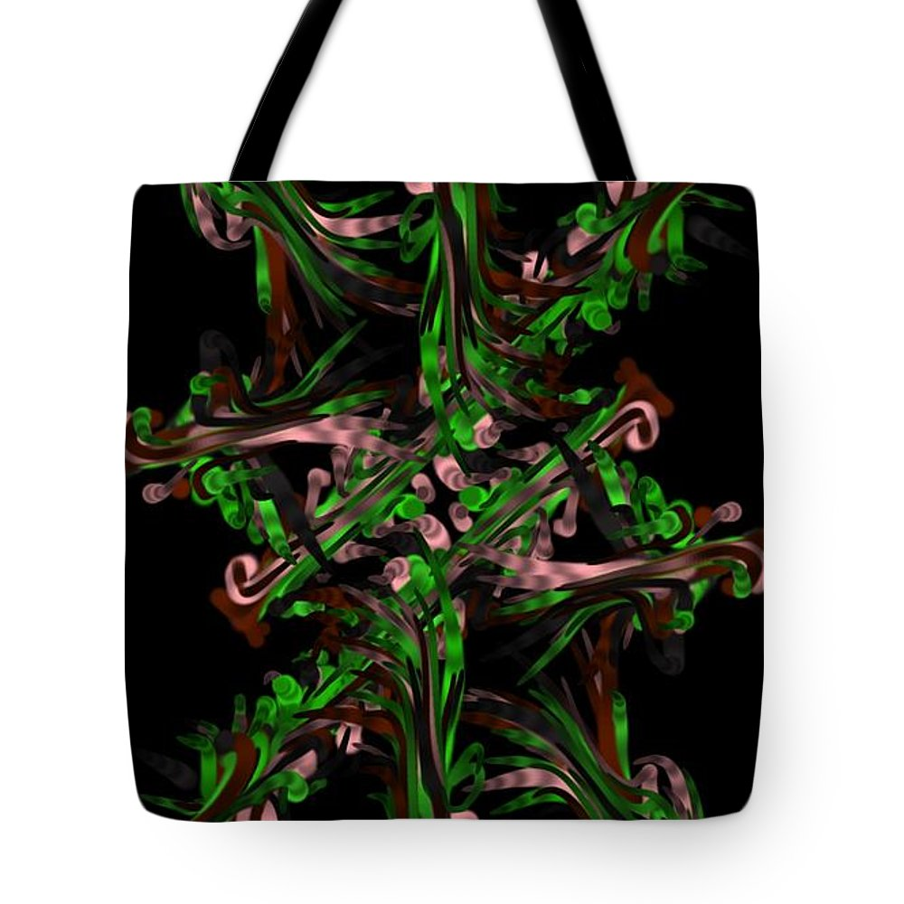 Ribbon Painting Tote Bag featuring the painting Ribbon Painting Art by Sheila Mcdonald