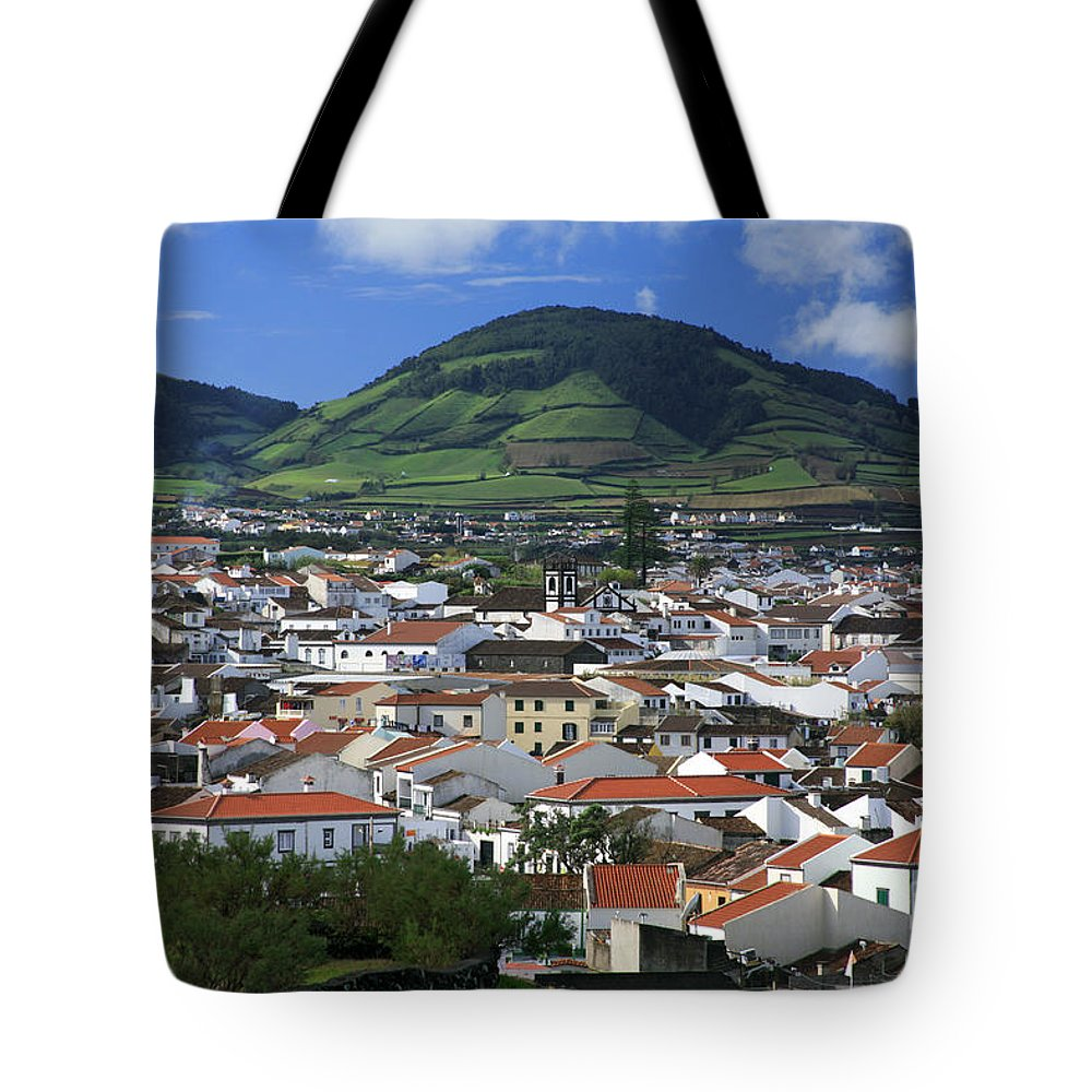 Azores Tote Bag featuring the photograph Ribeira Grande by Gaspar Avila