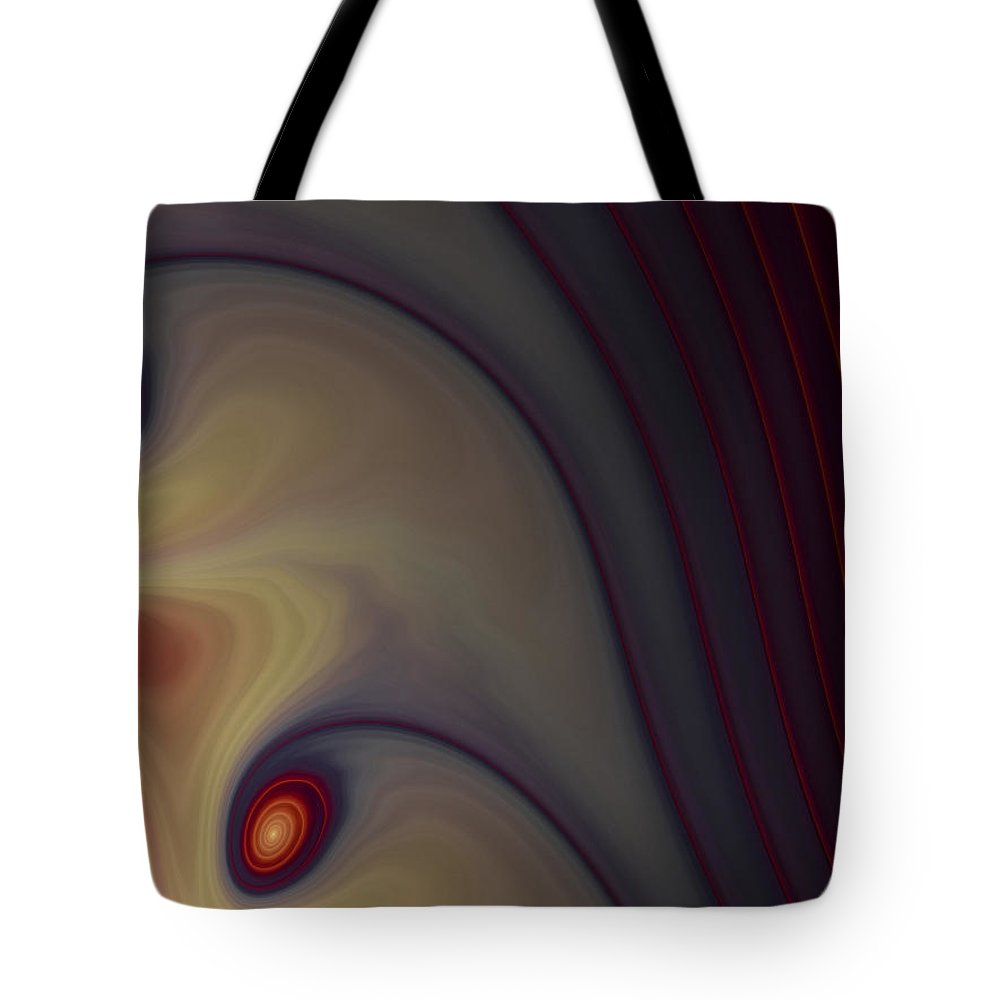 Apophysis Tote Bag featuring the digital art Rich In Color by Amorina Ashton