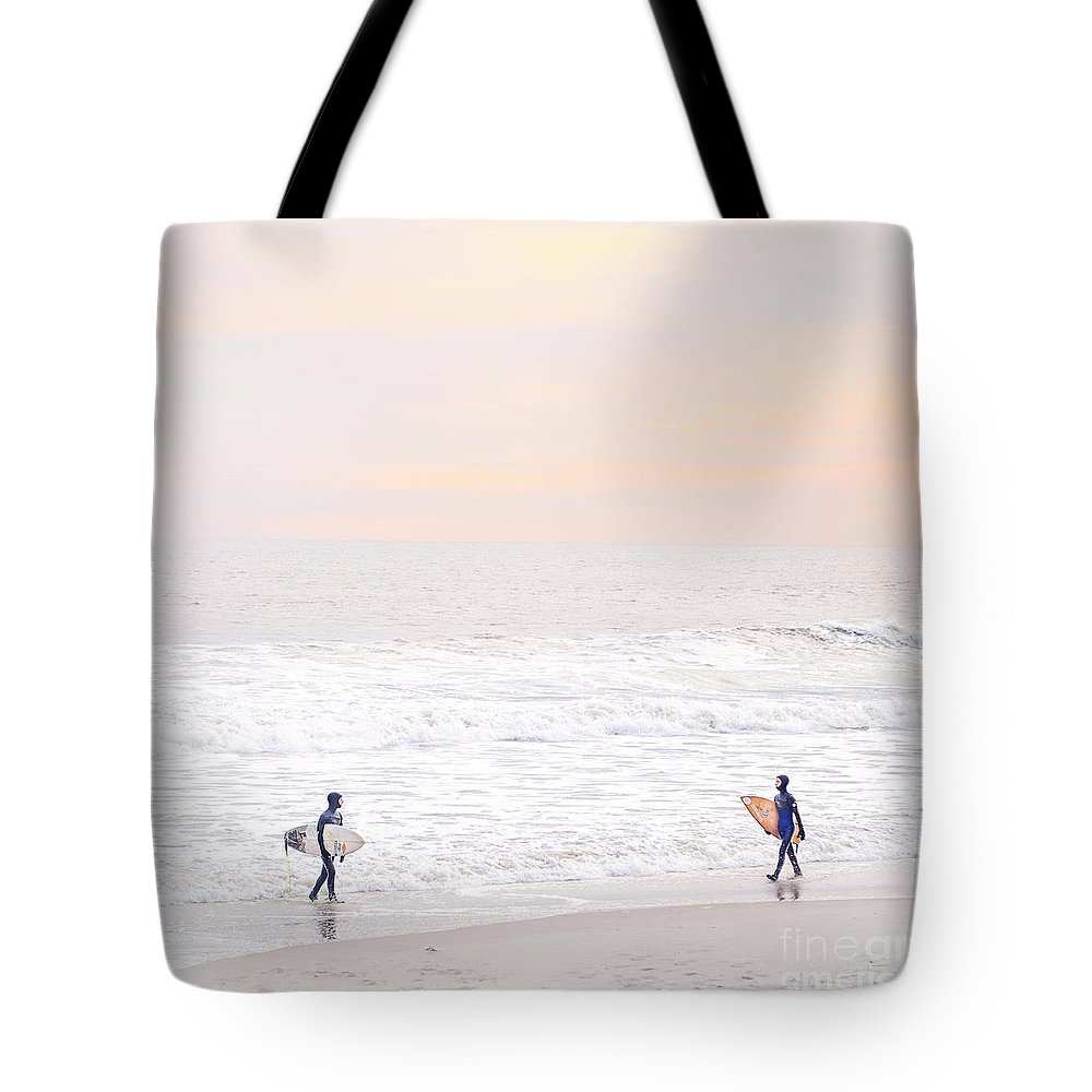 Kremsdorf Tote Bag featuring the photograph Riders Of The Sea by Evelina Kremsdorf
